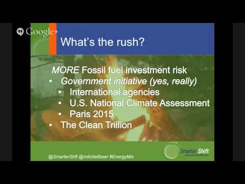 """Climate Hangout: """"Issues with pipelines, economics of renewable energy & job creation"""""""