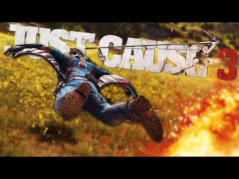 FLY LIKE AN EAGLE! | Just Cause 3 #1