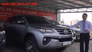 [Đã bán] Bán xe Toyota Fortuner 2017 cũ máy dầu số sàn trả góp - 0937.447.889 Mr.Khiêm