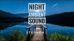 Night Ambient Sounds, Cricket, Swamp at Night, Study, Sleep and Relaxation Meditation Sounds