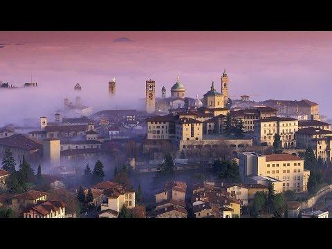 Bergamo Citta Alta: прогулка по Верхнему Бергамо