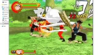naruto shippuden ultimate ninja 5 para pc - jogos ps2 com gameplay