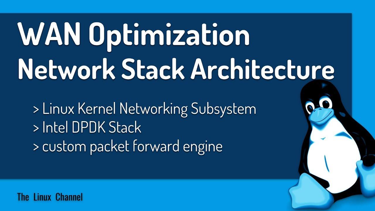 334 WAN Optimization Network Stack Architecture -Linux Kernel vs Intel DPDK  vs Custom Packet Forward