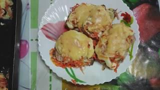 Горбуша, запеченная в духовке с луком и морковью, по рецепту любимой свекрови!!!