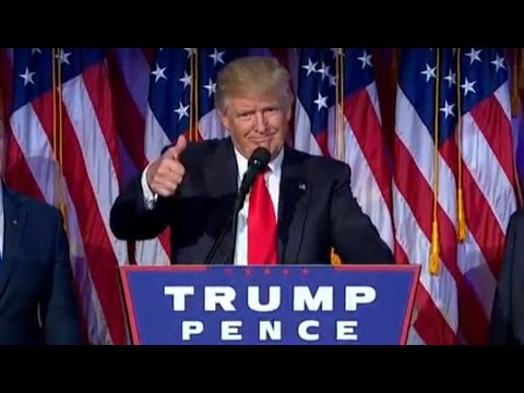 Donald Trump VICTORY SPEECH | Full Speech as President Elect