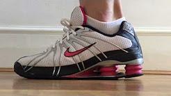 Women's Nike Shox Turbo OZ (White/Black/Cherry)