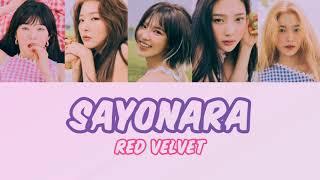 Red Velvet-Sayonara | 레드벨벳-사요나라 한국어 번역