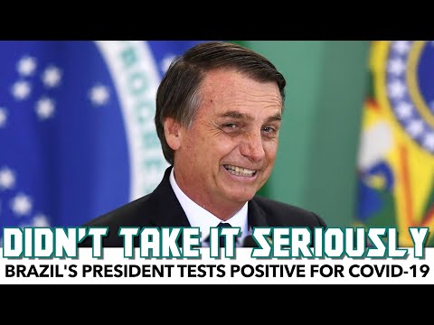 Far-Right Brazil President Tests Positive For COVID-19