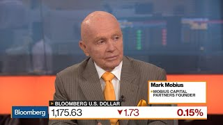 Mobius Says U.S. Equity Slump Would Frighten Global Markets