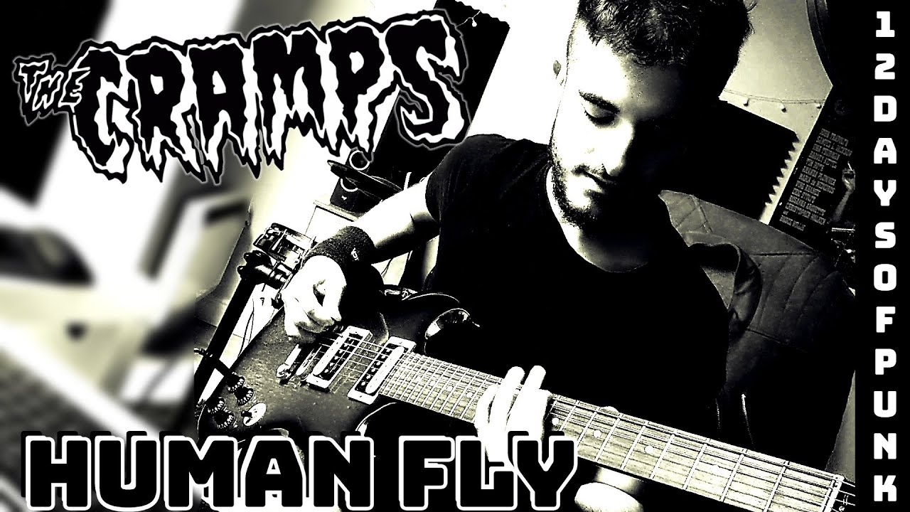 THE CRAMPS - Human Fly (Guitar Cover)   12 Days of Punk
