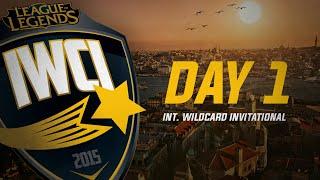 IWCI 2015 - Group Stage Day 1 - The Chiefs vs Besiktas eSports
