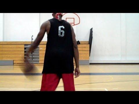 Stephen Curry Thru Behind, Back Thru, Hesitation Pullup Jumper 1 & 2 | Dre Baldwin