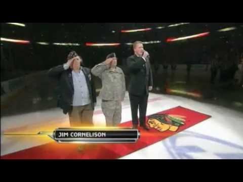2010 Stanley Cup Finals: Blackhawks vs Flyers Game 1 Anthem (NBC)
