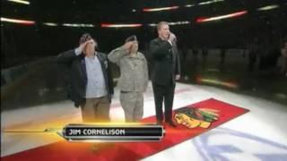 2010 Stanley Cup Finals: Blackhawks vs Flyers Game 1 Anthem (NBC)