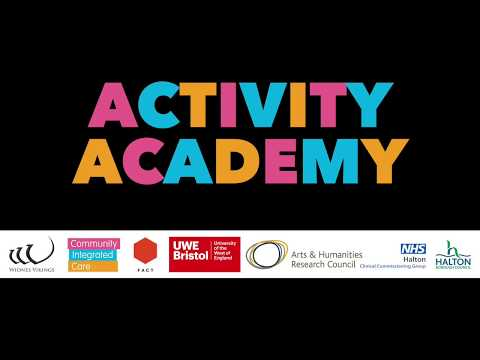Activity Academy - A showcase of arts, creativity and community engagement in dementia care