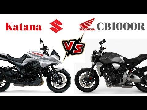 Suzuki Katana vs Honda CBr