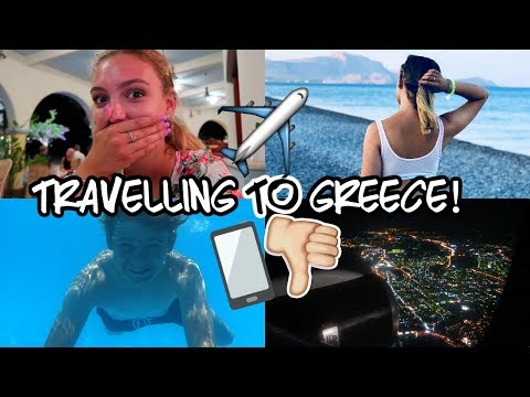 TRAVELLING TO GREECE, HOTEL TOUR & I BROKE MY PHONE…