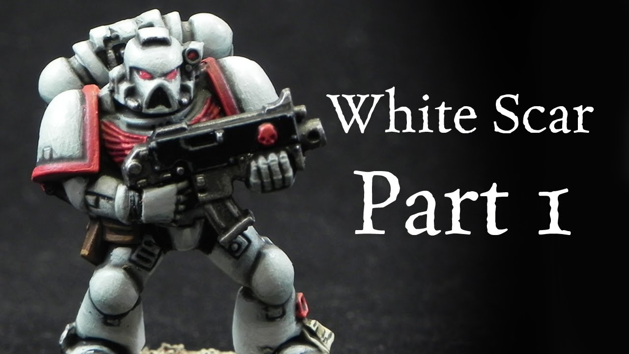 Warhammer Painting White Scars
