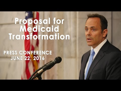 Proposal for Medicaid Transformation Press Conference
