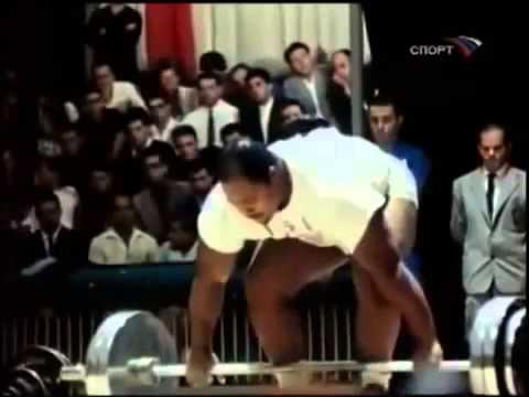 Олимпиада в Риме 1960 года Юрий Власов