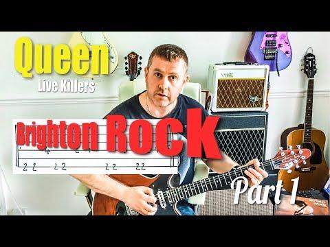 Brighton Rock - Queen Live Killers - Guitar Solo Tutorial Part One