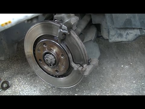 Front brake pads replacement within 15 minutes