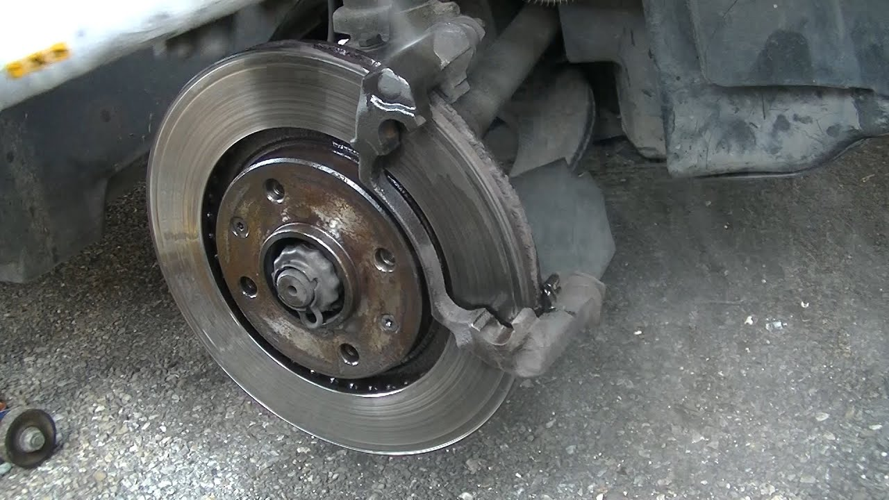 front brake pads replacement within 15 minutes - youtube