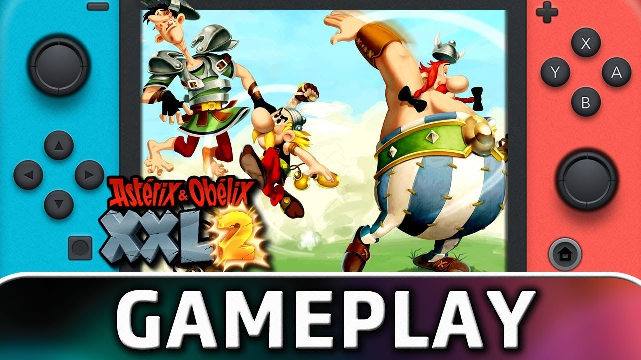 Asterix Obelix Xxl 2 First 30 Minutes On Switch Youtube