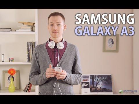 Samsung Galaxy A3: обзор смартфона