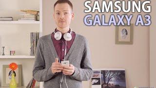 Samsung Galaxy A3: обзор смартфона(Цена и наличие: http://rozetka.com.ua/samsung_galaxy_a3_ds_white/p2003257 Видеообзор смартфона Samsung Galaxy A3 Смотреть обзоры других ..., 2015-01-23T15:12:00.000Z)