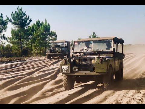 Portuguese Men Of Faff Part 6. Land Rover Series One Adventure.