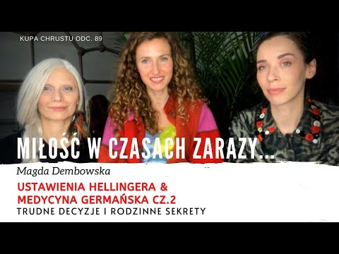 Rodowe traumy a nasze zdrowie i bezpieczeństwo - Magda Dembowska (Odc.89)