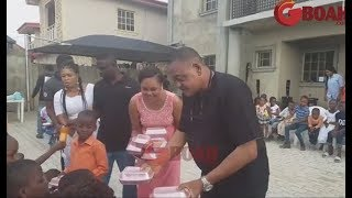 Jide Kosoko & His Daughters Shares Food & Dance At His House As He Celebrates His BirthdayToday