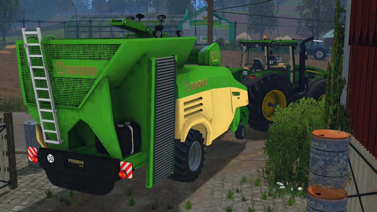 Pellet Production Krone Premos FS YouTube - Southern norway map ls15