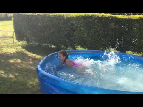Bond, Jemima Bond, 30 lengths of the pool in my country summer garden