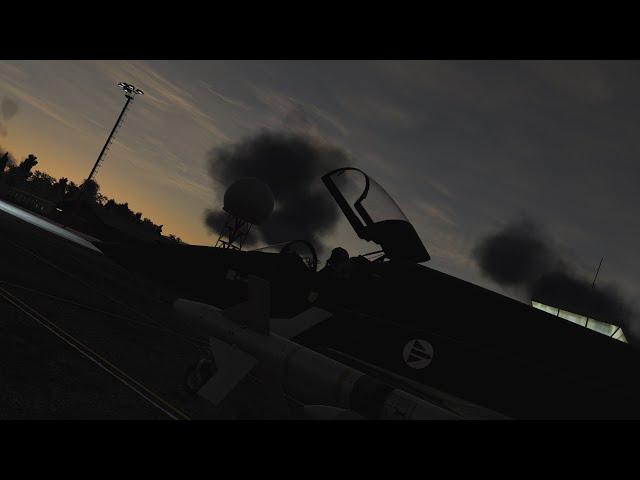 DCS: F5-E3 Tiger II Wild Weasel In The Dark
