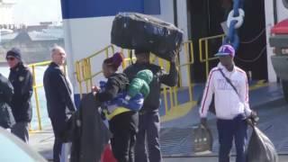 Traghetto Tirrenia devastato da immigrati con decreto d'espulsione