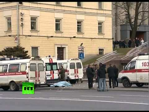 'It was a bomb': Eye witnesses, blood & dead bodies at Minsk metro station