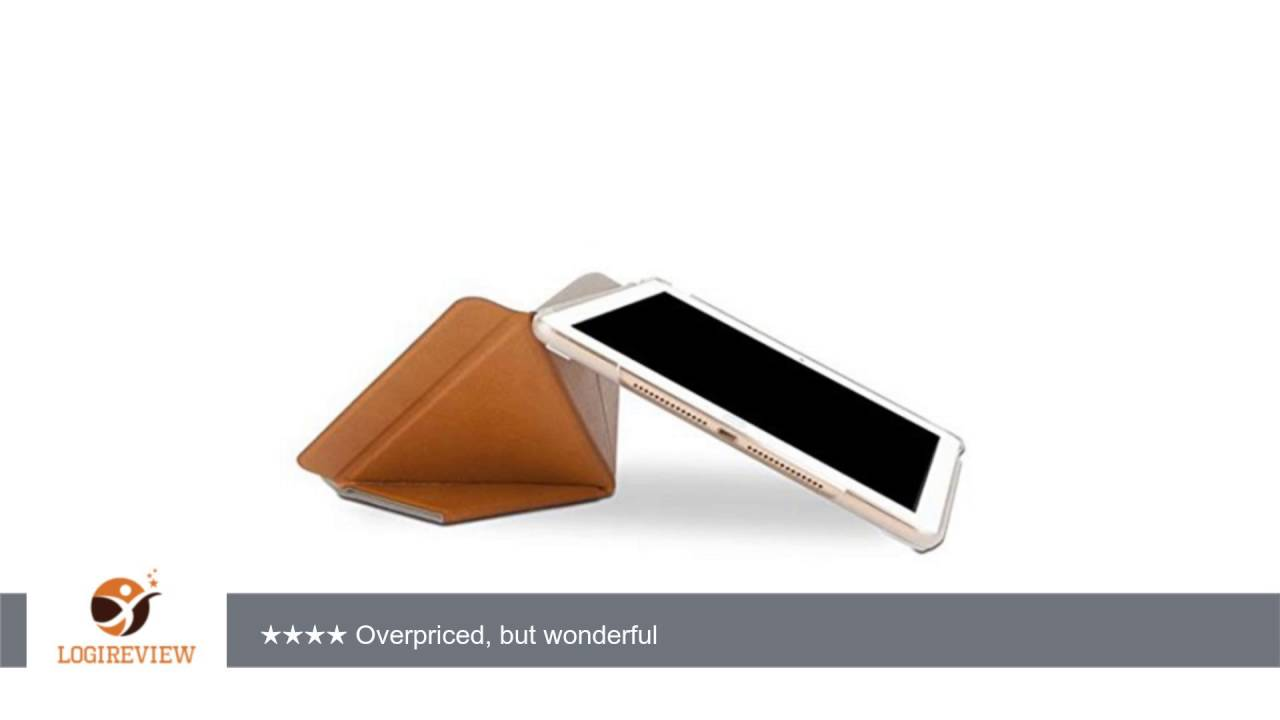 newest collection fcb74 d2aeb Moshi VersaCover – iPad Air 2 Stand Case with Origami Cover - Almond Tan |  Review/Test