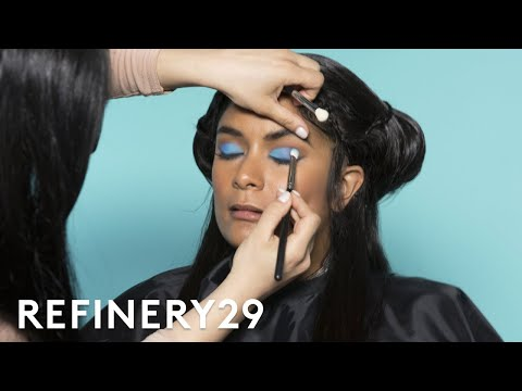 I Got Transformed Into Mindy Kaling | Beauty Evolution | Refinery29