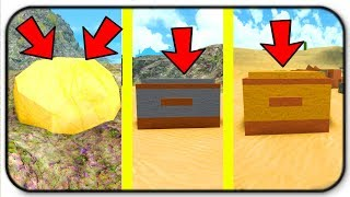 Update! Gold, Resource Chest, Food Chest And Market - Roblox Booga Booga