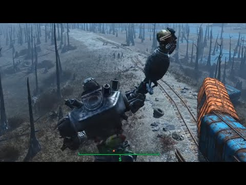 Fallout 4 Play as Liberty Prime
