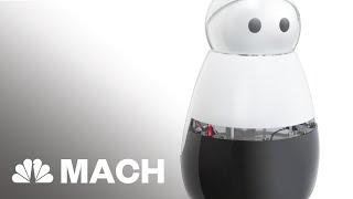 Introducing Kuri, The Home Robot | Mach | NBC News