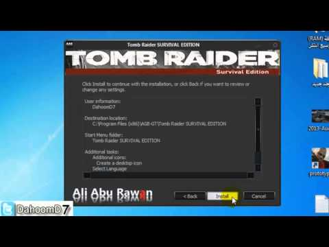 طريقة تحميل وتثبيت لعبة Tomb Raider