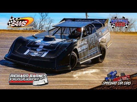 #29 Christian Hanger - Super Late Model - National 100 - 1-27-19 East Alabama Motor Speedway