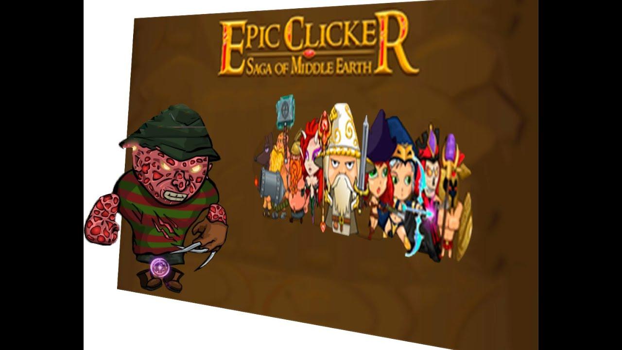 epic clicker saga of middle earth gamplay hack clicker