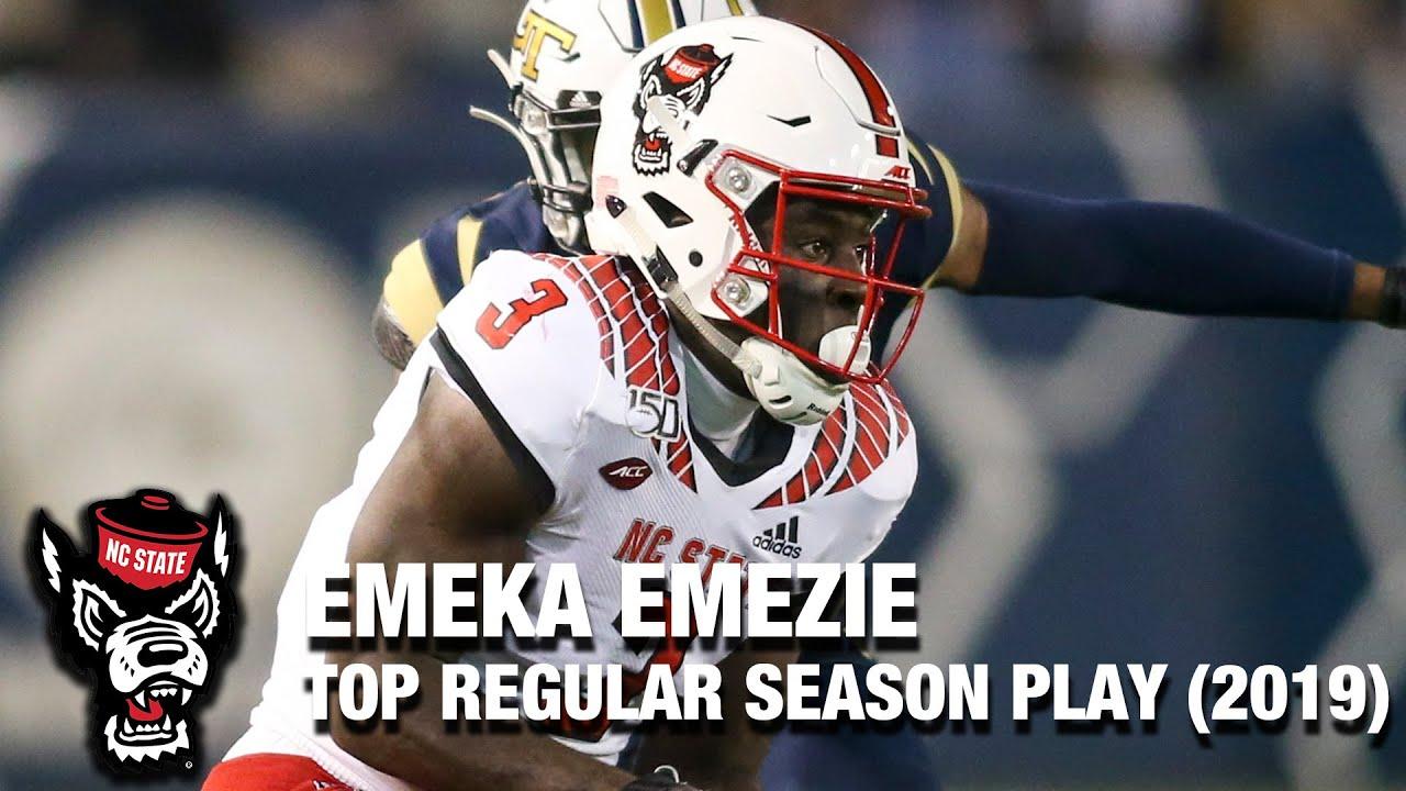 NC State WR Emeka Emezie   2019 Top Regular Season Play