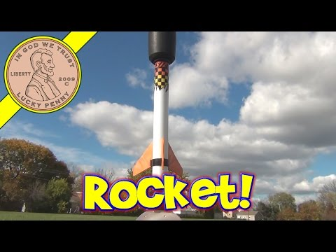 Estes Hydrogen Fuel Rocket Kit From 2006 - How it Works and Watch it Being Launched!