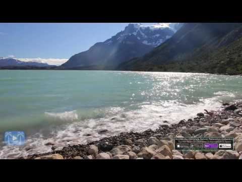 4K Nature Scene: Patagonian Mountain Stream + Sounds | Torres Del Paine, Chile