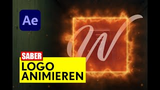 After Effects: Saber Logo animieren - Tutorial - deutsch